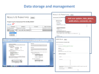 Data storage and management